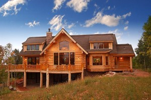 Log homes: the beauty of nature