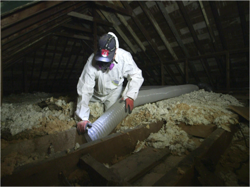 Old insulation removal great northern insulation attic insulation removal solutioingenieria Image collections
