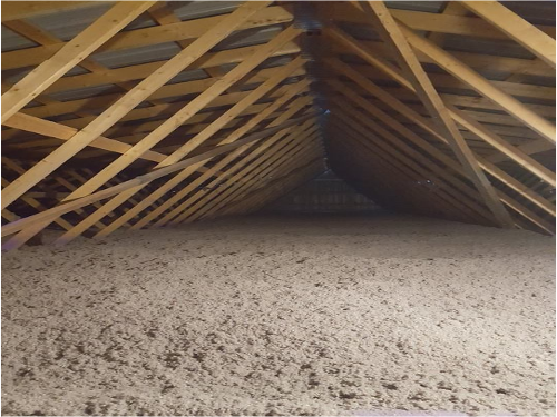 Attic Blown-in Insulation