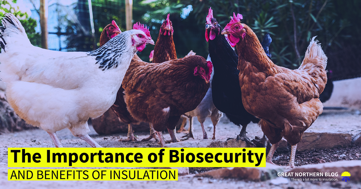 Importance of biosecurity and the benefits of insulation