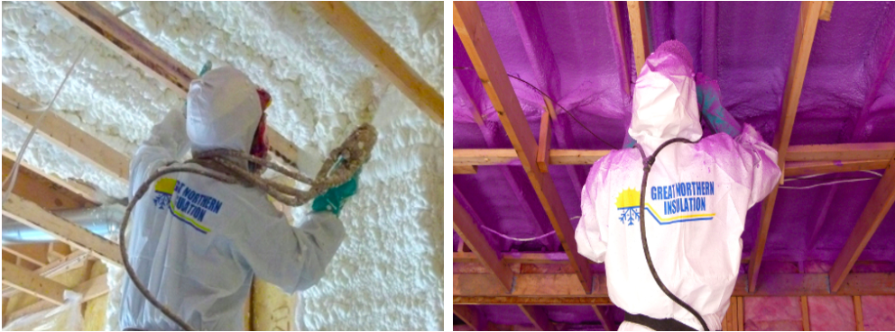 spray foam insulation contractors attic installation professional great northern insulation