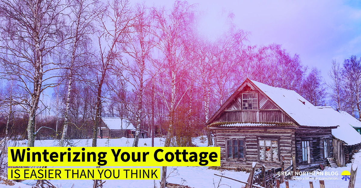 Winterizing your Cottage