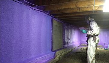 Basement Insulation Professionals toronto great northern insulation spray foam install