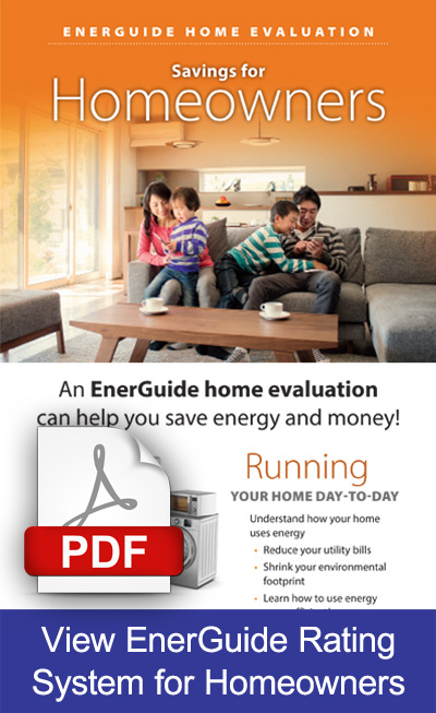 Energuide home evaluation - Savings for homeowners