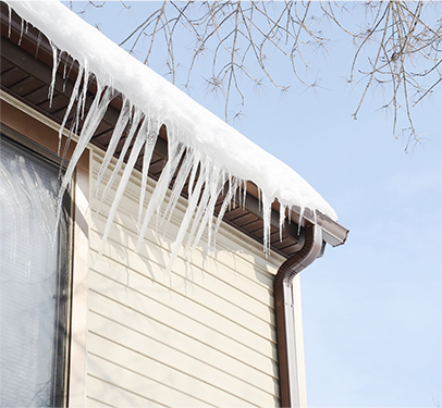 great northern insulation icicles ice dam remedy repair professional ontario