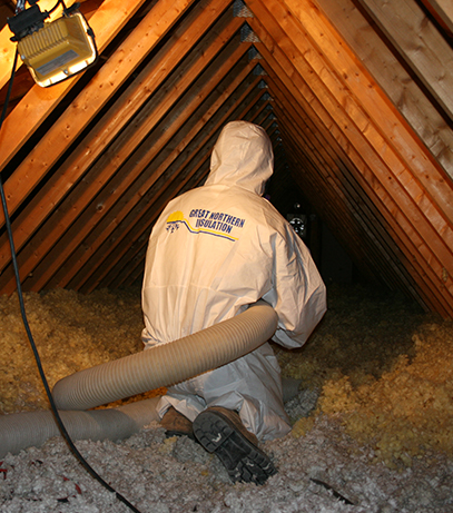 great northern insulation attic insulation ontario contractor spray foam