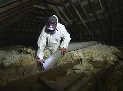 Insulation Removal | Great Northern Insulation | Ontario