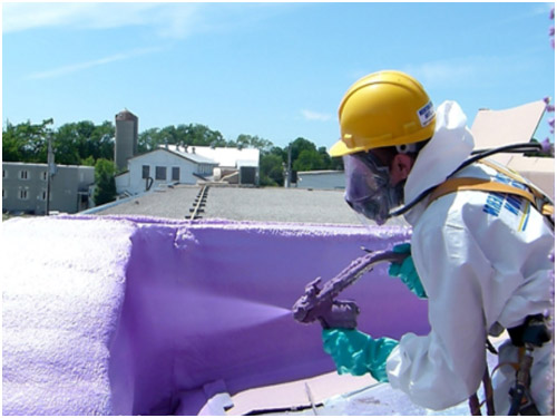 spray foam insulation professional