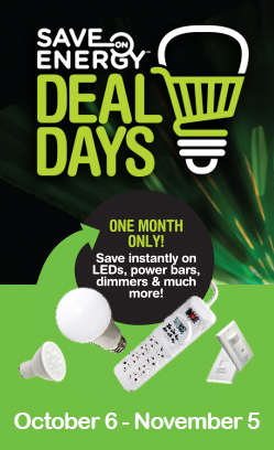save on energy deal days ontario