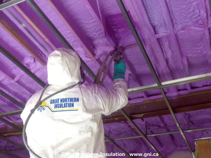 spray foam vapour barrier