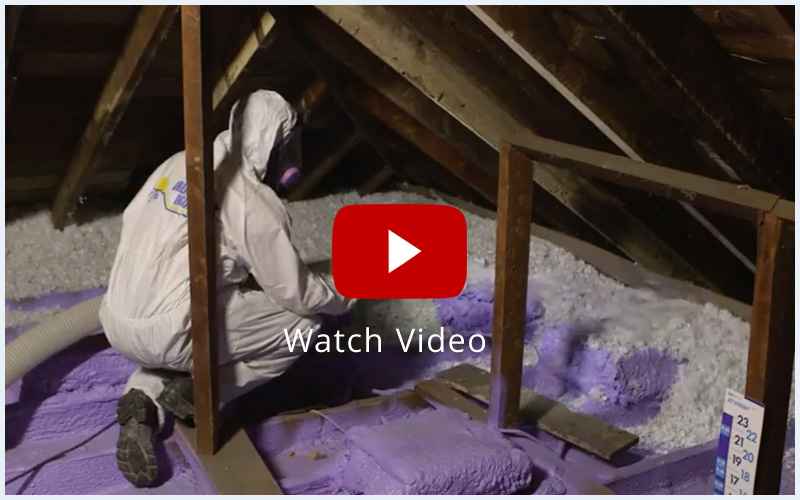 attic insulation video great norther insulation how to