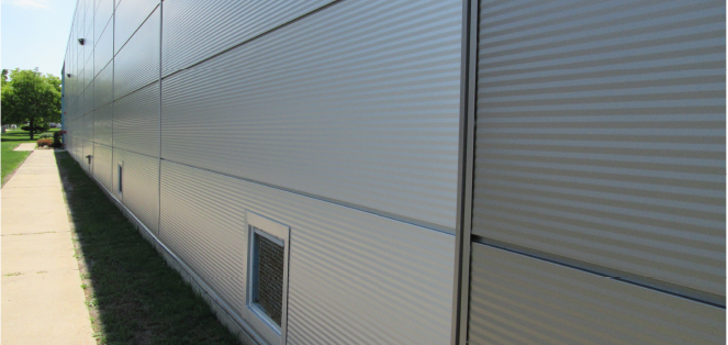 Great Northern Insulation Insulated panelling and cladding restore the buildings look