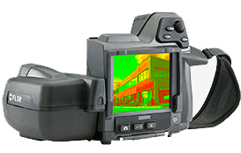 infrared thermal camera inspection