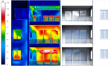 thermal imaging for building diagnostic
