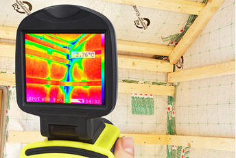 infrared building inspection for energy efficiency