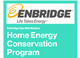 enbridge home energy conservation program