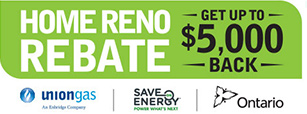 union gas home reno rebate ontario