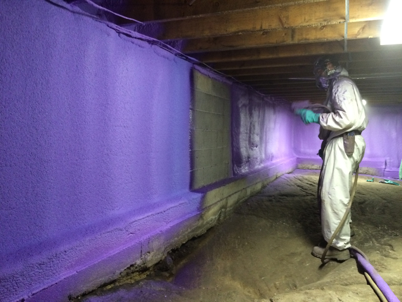 basement insulation great northern insulation spray foam insulation